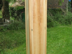 Tall Welsh Ash Cabinet by Uniqueworks Handmade Furniture