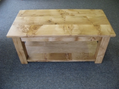 Welsh Oak Coffee Table with Undershelf by Uniqueworks Handmade Furniture