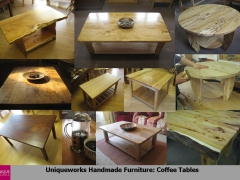 Coffee Tables Montage.Uniqueworks Handmade British Furniture