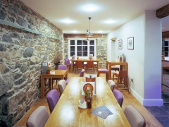 Uniqueworks Prestige Restaurant Table at The Cross Foxes in Snowdonia