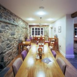Uniqueworks - Prestige Oak Restaurant DiningTable at The Cross Foxes in Snowdonia