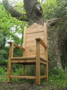 The Grand Throne by Uniqueworks Handmade Furniture. At The NBGW