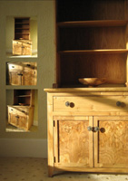 Welsh Oak Dresser Montage by Uniqueworks Handmade Furniture