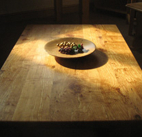 Cropped Sunlit Spalted Alder Coffee Table by Uniqueworks British Handmade Furniture