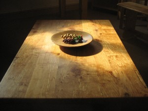 Sunlit Spalted Alder Coffee Table by Uniqueworks British Handmade Furniture