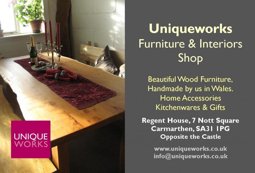 Uniqueworks New Furniture & Interiors Shop. Info