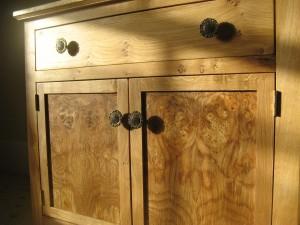 Welsh Oak Dresser by Uniqueworks Handmade Furniture - Cabinet Detail