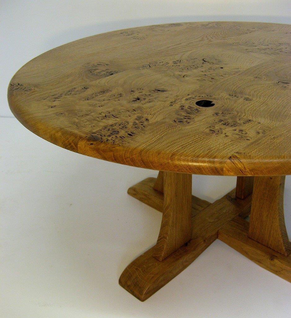 'A Table With a Hole' by Uniqueworks Handmade Furniture