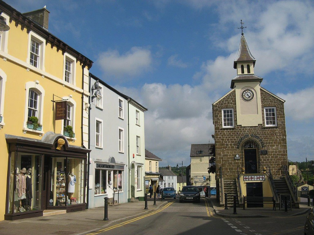 Narberth- Home of Uniqueworks Handmade Furniture Shop