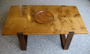 A Contemporary Welsh Oak Table by Uniqueworks in British Vogue