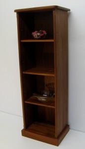 Tall Sapele Mahogany Bookcase. Now £395