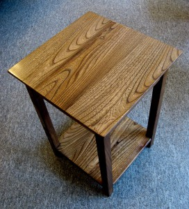 Little Welsh Elm Occasional Table.  SOLD