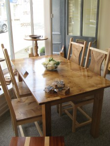 Pembrokeshire Oak Dining Table. SOLD