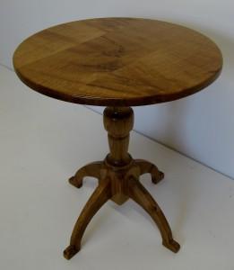 Little Oak Pedestal Table.  SOLD