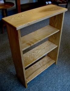 Blonde Welsh Ash Bookcase.   SOLD