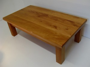 English Pear Wood Coffee Table. SOLD