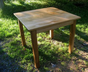 Square Maple Dining Table.   Now £565