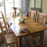 Pembrokeshire Oak Dining Table by Uniqueworks Handmade Furniture