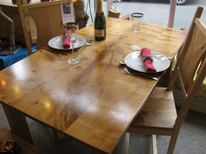 Welsh Oak Picton Castle DiningTable by Uniqueworks Handmade Furniture