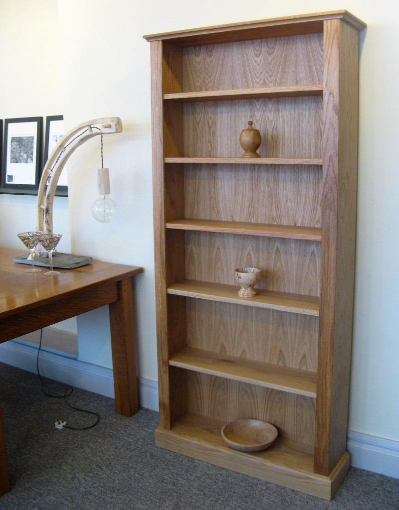 Classic Oak Bookcase by Uniqueworks Handmade Furniture