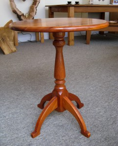 Seasoned Mahogany Occasional Table.
