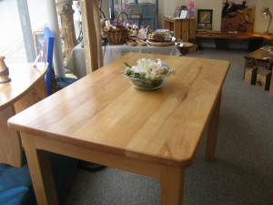 Beechwood Dining Table. 122x75cm.