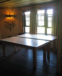 Large Feature-Piece Tables by Uniqueworks Handmade Furniture at Grove, Narberth