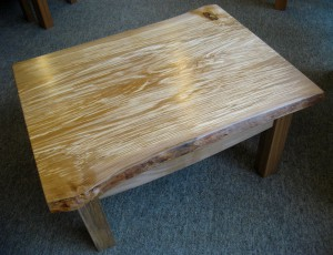 Spalted Beech Wany-Edge Coffee Table.