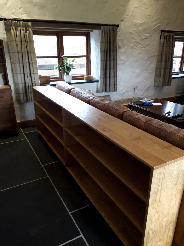 Sian Hughes Long Oak Bookcases by Uniqueworks Handmade Furniture (2)